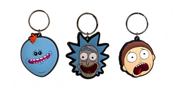 2D Rick And Morty Key Chains x 288